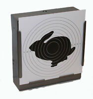 100 Air Rifle Shooting Paper Rabbit Targets 14cm Pistol Airsoft Gun ( 100gsm