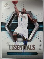 2004-05 SP AUTHENTIC BASKETBALL ESSENTIALS BARON DAVIS # 117 , HORNETS !!! BOX 5