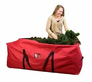 Premium CANVAS Heavy Duty ChristmasTree Bag 9ft trees XL! great for camping