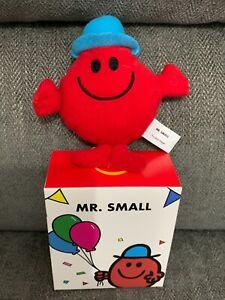 Mr Small Mcdonalds Mr Men 2021 Soft Toy Bag Tag Xmas Tree Decoration UK New Box