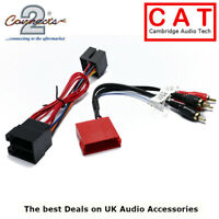CT20AU11 Audi BOSE Car Radio Amplified system to RCA Harness adapter