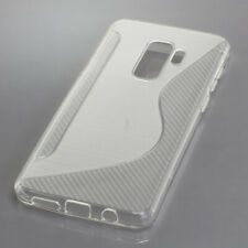 Silicon Case TPU Hülle Schutz für Samsung Galaxy S9 Plus - transparent