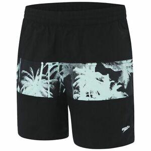 Speedo Mens Classic Panel Watershort - Tropic Flash - Men's Swim Shorts