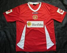 Crewe Alexandra FC home shirt jersey LOTTO 2009-2010 The Railwaymen adult SIZE L