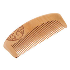 Antique Ancient Style Mahogany Fine Tooth Combs Antistatic Massage Hairbrush