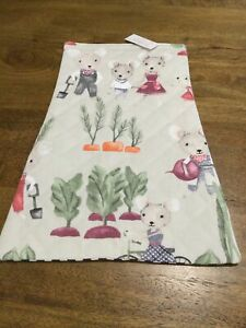 Childs Padded Shopping Trolley Seat Cushion, Mouse Garden, New