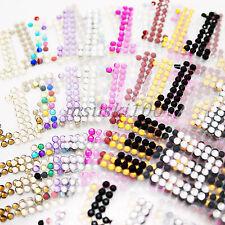 Diamond Stickers Rhinestone Letters Numbers Stick On Crystal Self Adhesive Gems