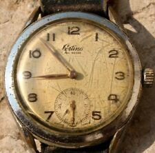 montre certina fab suisse . swiss made ( vintage )