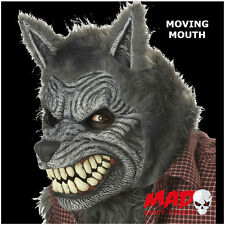 FULL MOON MADNESS Werewolf ANI-MOTION Latex Mask -Halloween Moves with your Face