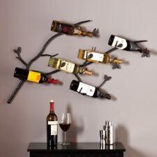 Southern Enterprises Brisbane Wall Mount Wine Rack HZ1005 Wine Rack NEW