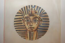 """""""King Tut""""  Vintage HAND PAINTED Needlepoint Canvas by Monarch"""