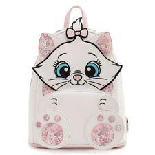 Loungefly Disney коты Мари цветочный footsy белый и розовый мини рюкзак кошелек