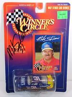 1997 MIKE SKINNER AUTOGRAPHED SIGNED 1:64 NASCAR STOCK CAR RACING DIECAST LOWE'S