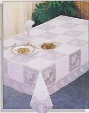 """Cream """"Army and Navy"""" Tablecloth (86cm Square)"""