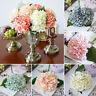 FJ- 1Pcs Artificial Preserved Flower Hydrangea Bunch Home Wedding Floral Decor M