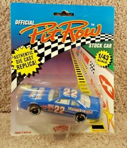 New 1992 Official Pit Row 1:43 Diecast NASCAR Sterling Marlin Maxwell House #22