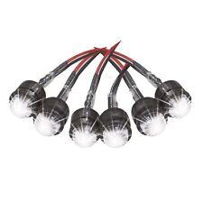 200167 SPARMART KIT 6 LAMPADINE LED BANCHI Ø 10 mm per PORTATARGA MOTO BUELL