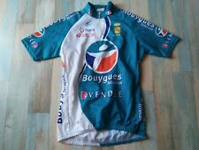 * MAILLOT CYCLISTE NALINI BOUYGUES TELECOM VENDEE TAILLE L/4 TBE
