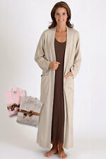 Cashmere and Silk Woman's Lightweight Long Robe by Dreamsacks - Small