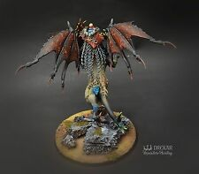 Chaos Lord on Manticore warhammer Age of Sigmar ** COMMISSION ** painting