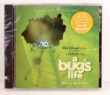 Walt Disney A BUG'S LIFE Original Pixar Film Soundtrack 1998 CD- Randy Newman