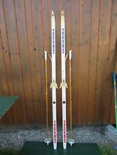 """Ready to Use Cross Country 77"""" Long FISCHER 200 cm Skis +  Poles"""