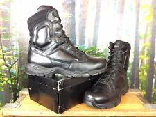 MAGNUM MENS UK 12 EU 46 BLACK LEATHER VIPER PRO BOOTS RRP £100