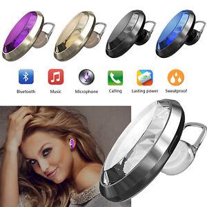 Luxury Crystal Bling Wireless Bluetooth Headset Headphone For Women Girls Ladies