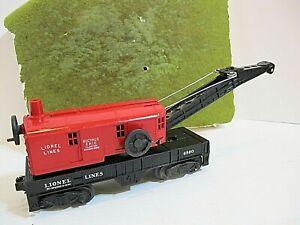 Lionel Postwar 6560 Bucyrus Erie Crane Car without hook and line