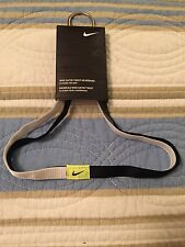 Nike Satin Twist Headband NEW, Black And White Women