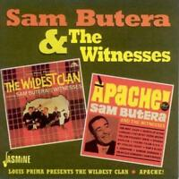 SAM BUTERA/SAM BUTERA & THE WITNESSES - THE WILDEST CLAN/APACHE NEW CD