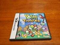 Yoshi Touch & Go (Nintendo DS, 2005) TESTED Authentic Fast Shipping