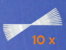 10 x FFC 12pin 0.5 pitch 30cm HP dv9000 dv6000 flat ribbon cable cavo a nastro