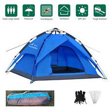 Zelt 2-3 Personen Ultraleichte Camping Zelt Kuppelzelt Automatikzelt Trekking