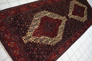 855-Wunderschöner Original Persischer Senneh,354x149 cm²,Teppich,Tappeto,Carpet