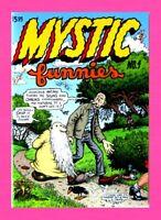 MYSTIC FUNNIES #1, 1997, R. CRUMB, A. WOOD. MR NATURAL, UNDERGROUND COMIC NM