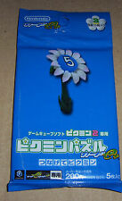 Nintendo Pikmin 2 Puzzle Card e+ Blue #3 Booster Pack (5 cards)