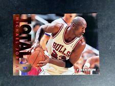 1995 1996 Michael Jordan Fleer Total D Gold Bulls Insert #3