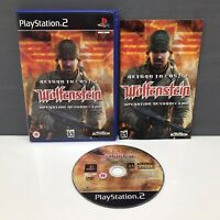 Return to Castle Wolfefenstein | PlayStation 2 (PS2) | Sony | VGC | PAL