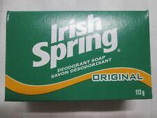 "IRISH SPRING ""Original"" Deodorant Soap Bar 113g (4 OZ) Bath-Size"