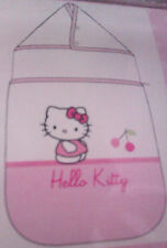 """HELLO KITTY"" NID D'ANGE - COCCINELLE - 0 A 6 MOIS - Rose/Blanc - Neuf Emballé"