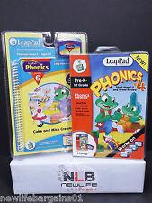 2 Leap Frog LeapPad PHONICS Lessons Pre-k - 2nd Grade