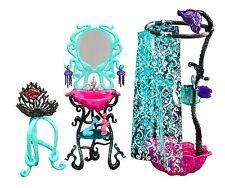 Monster High Lagoona Blue Shower/DOUCHE DE COLLECTION accessoires rare neuf dans sa boîte y7715