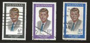 Philippines Scott #925-27, Singles 1965 Complete Set FVF Used