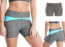 Pantaloncini da donna grigia