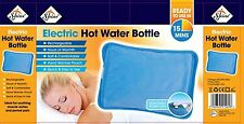 ELECTRIC HOT WATER BOTTLE RECHARGEABLE BED HAND WARMER MASSAGING HEAT PAD NEW