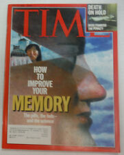 Time Magazine How To Improve Your Memory & Death On Hold June 2000 042015R