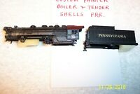 ATLAS/RIVAROSSI, 0-8-0 PENNSYLVANIA # 38, BOILER & TENDER SHELL, N Scale !!!