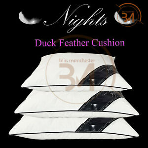 Square Duck Feather Pads Inners Fillers Inserts Sofa Bed Rug Car Pillow Cushions