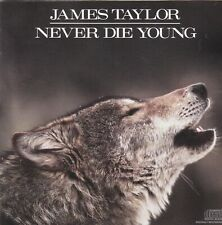 James Taylor  Never Die Young  CD Damaged booklet.